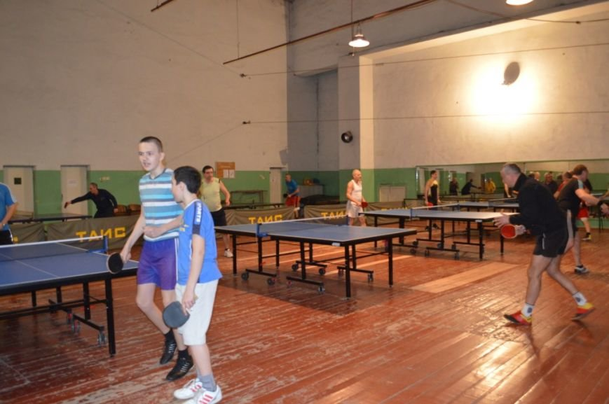 Открытие турнира по настольному теннису, фото-3