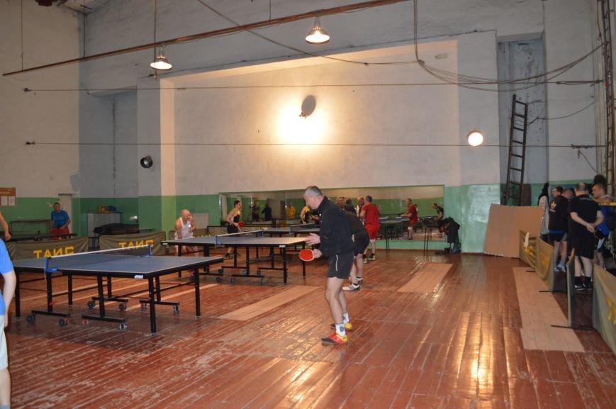 Открытие турнира по настольному теннису, фото-4