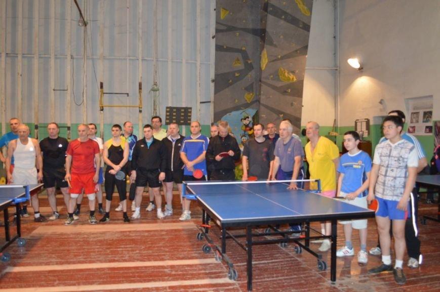 Открытие турнира по настольному теннису, фото-2