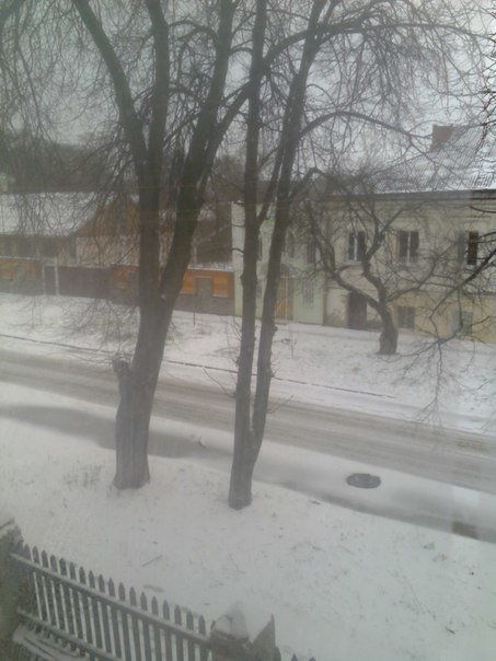 До Полтави повернулася зима (ФОТО) (фото) - фото 2