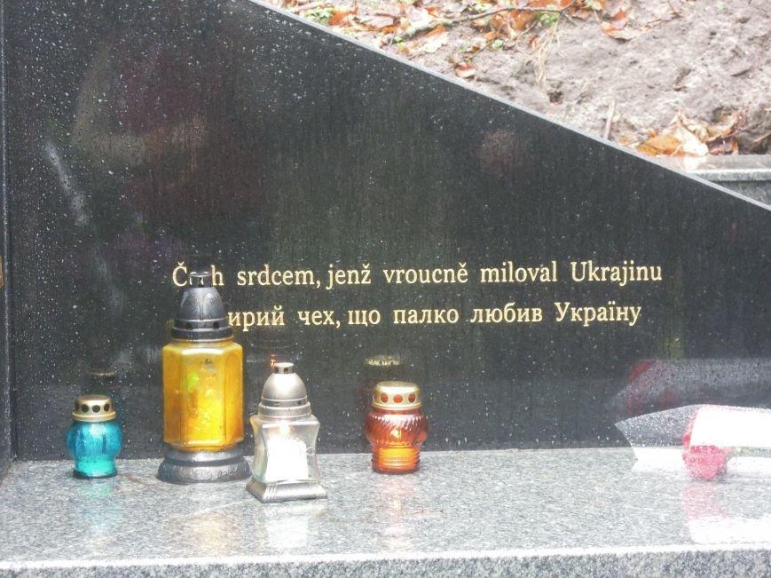 У Львові чеська громада вшанувала пам'ять Томаша Хохолоушка, який похований на Личаківському цвинтарі (ФОТОРЕПОРТАЖ) (фото) - фото 6