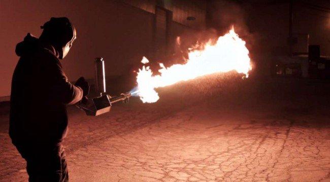 Херсонским аграриям на заметку... Новый бытовой огнемёт. (Фото и Видео) (фото) - фото 2