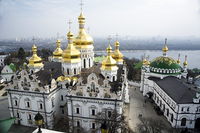 Главное за выходные: фоторепортаж из Лаврской колокольни и единый вид киевского транспорта (ФОТО) (фото) - фото 1
