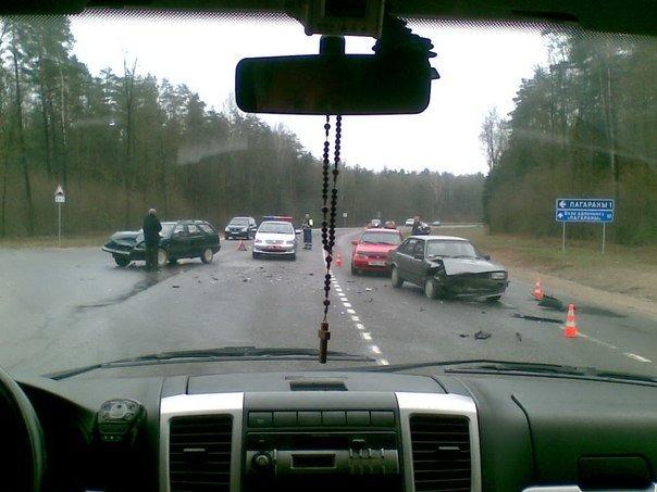Под Гродно, возле Погоран за 10 минут произошло два ДТП (фото) - фото 6