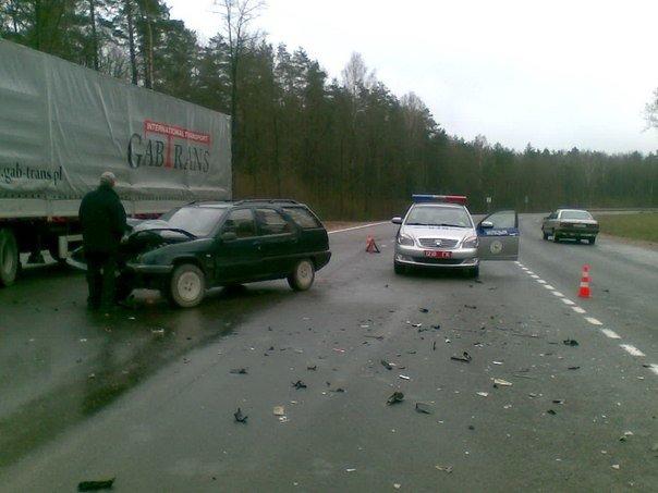 Под Гродно, возле Погоран за 10 минут произошло два ДТП (фото) - фото 2
