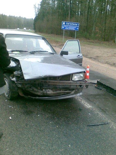 Под Гродно, возле Погоран за 10 минут произошло два ДТП (фото) - фото 4