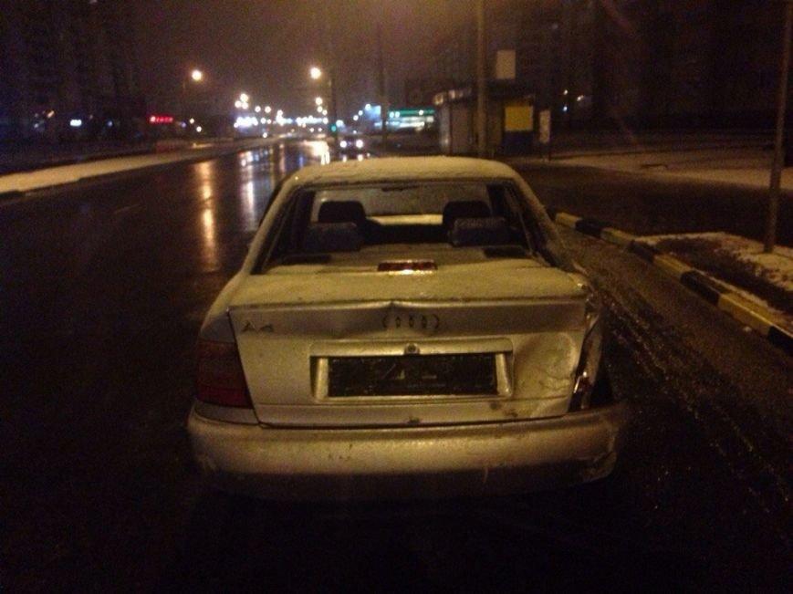 В Гомеле ночью столкнулись Audi и Citroen. (фото) - фото 2