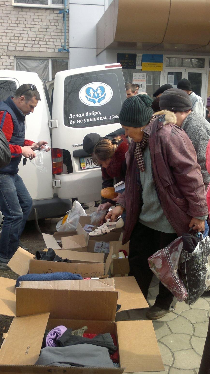 Начиная с марта этого года Городской центр помощи в Запорожье возит хлеб авдеевцам (ФОТО), фото-1
