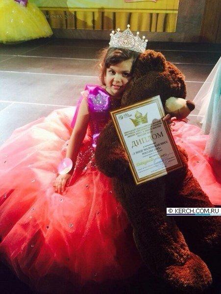 Маленькая крымчанка стала «Вице-мини-мисс Россия 2015» (ФОТО) (фото) - фото 2