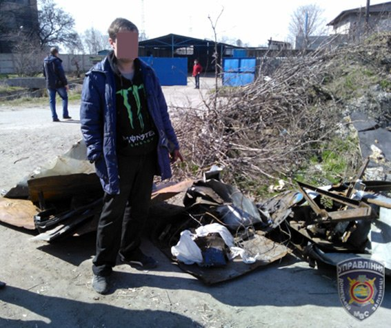 Мариуполец пытался украть 150 килограмм металла (ФОТО) (фото) - фото 1