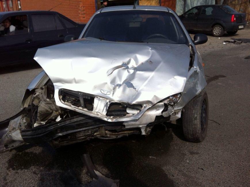 В Днепропетровске в результате ДТП пострадал водитель (ФОТО), фото-2