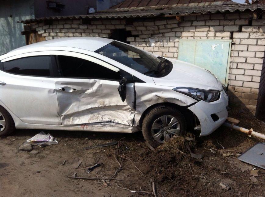 В Днепропетровске в результате ДТП пострадал водитель (ФОТО), фото-1