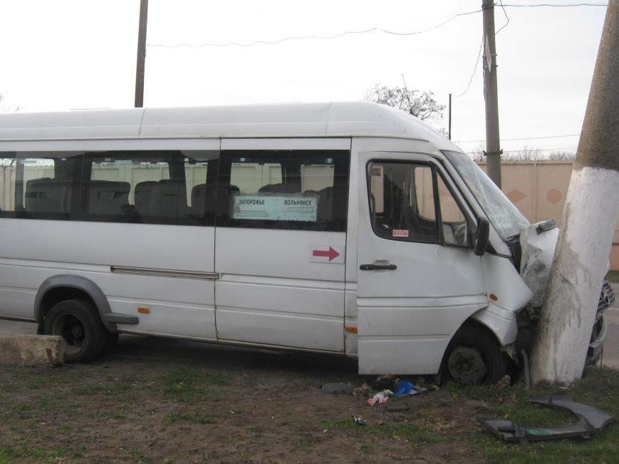 УГАИ опубликовало фото аварии с маршруткой под Запорожьем (ФОТОФАКТ) (фото) - фото 1