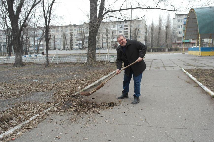 Генеральная уборка в Красноармейске: от прака «Юбилейный» до Динаса (фото) - фото 12