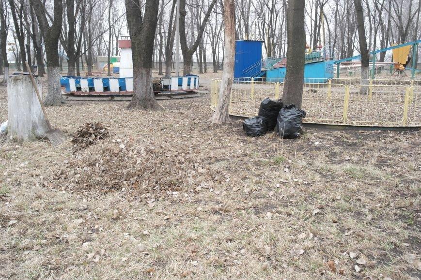 Генеральная уборка в Красноармейске: от прака «Юбилейный» до Динаса (фото) - фото 11