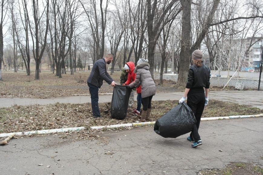 Генеральная уборка в Красноармейске: от прака «Юбилейный» до Динаса (фото) - фото 8
