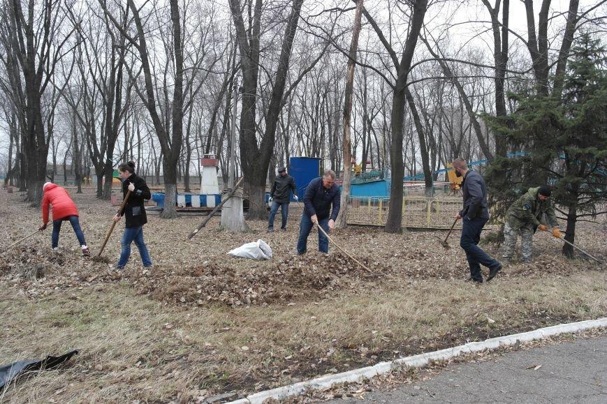 Генеральная уборка в Красноармейске: от прака «Юбилейный» до Динаса (фото) - фото 3