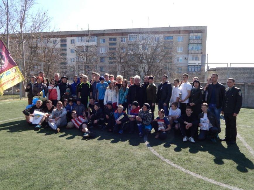 Сотрудники уголовно-исполнительной инспекции Херсонской области приняли участие в школьном мероприятии «Украина Единая» (фото) - фото 4