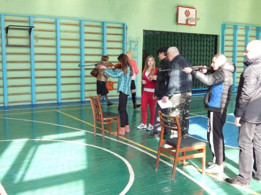 Сотрудники уголовно-исполнительной инспекции Херсонской области приняли участие в школьном мероприятии «Украина Единая» (фото) - фото 2
