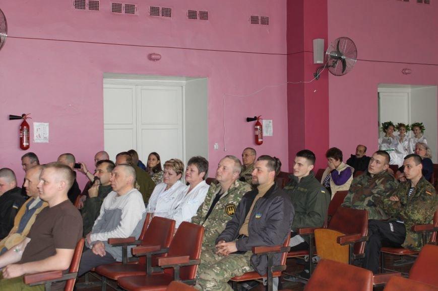 В Запорожье дети устроили концерт для раненных героев АТО (ФОТО), фото-2