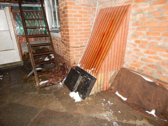 У Лубнах чоловік демонтував плитку прямісінько з центру міста (фото) - фото 1