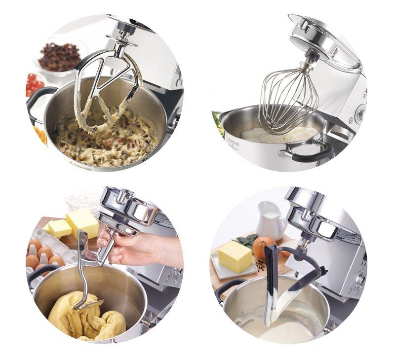Три отличия Kenwood Cooking Chef от обычного кухонного комбайна (фото) - фото 1