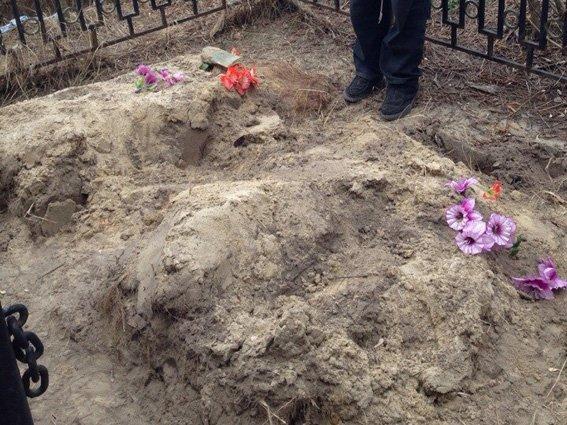 В Харькове мужчина осквернял могилы (ФОТО) (фото) - фото 1