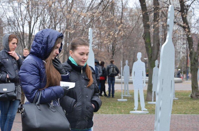 В Днепропетровске открылась арт-инсталляция «Невидимые» (ФОТОРЕПОРТАЖ) (фото) - фото 7