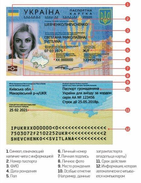 Как будет выглядеть новый украинский паспорт (+ фото) (фото) - фото 1