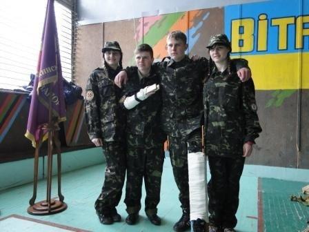 В Днепродзержинске учащиеся ПТУ соревновались в игре «Сокол» («Джура») (фото) - фото 3