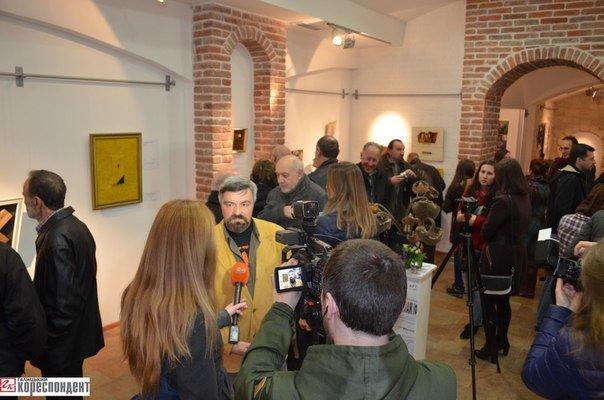 У Франківську представили артколажі митців «Станіславського феномена», фото-1