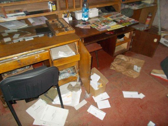 На Кіровоградщині обікрали поштове відділення (фото) - фото 1