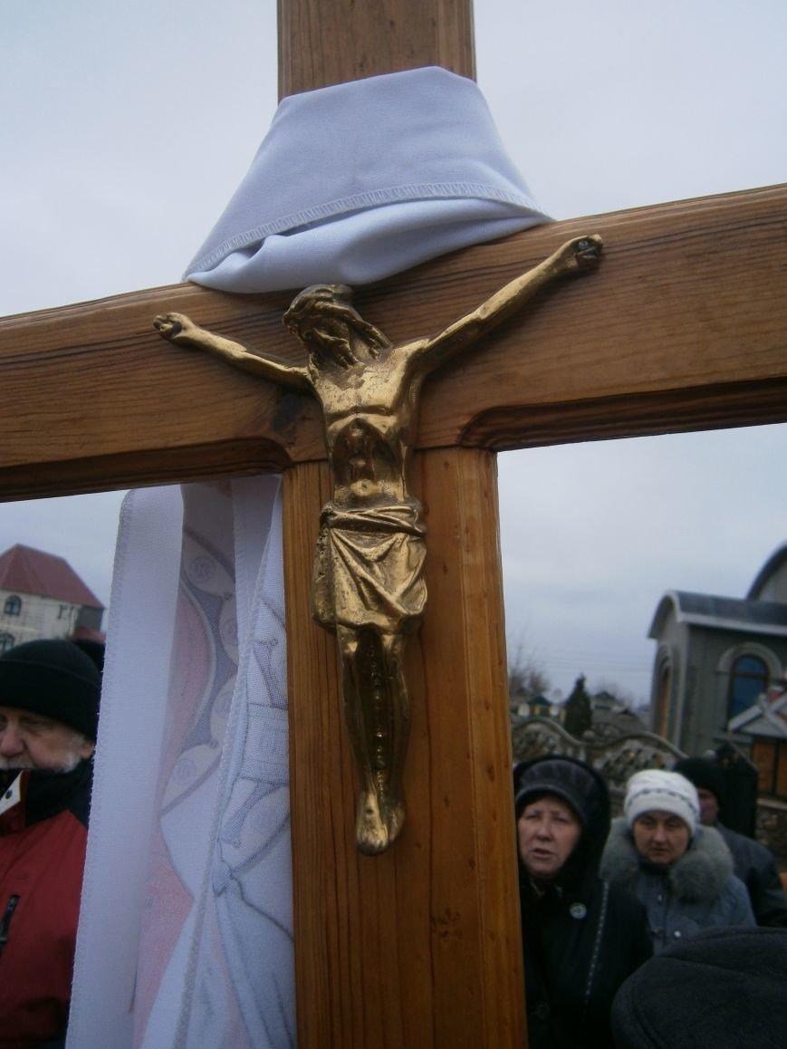 В Димитрове прошла молитвенная Крестная дорога за мир и покаяние (ФОТО) (фото) - фото 5