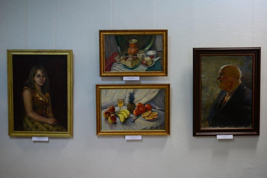 В Запорожье открылась художественная выставка «Время на полотне» (ФОТОРЕПОРТАЖ), фото-33