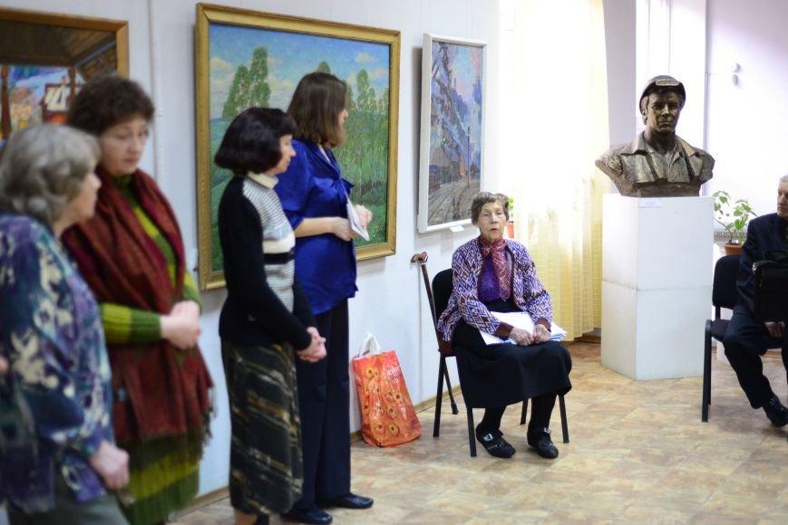 В Запорожье открылась художественная выставка «Время на полотне» (ФОТОРЕПОРТАЖ), фото-8
