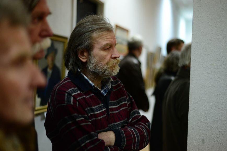 В Запорожье открылась художественная выставка «Время на полотне» (ФОТОРЕПОРТАЖ), фото-26