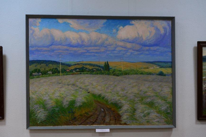 В Запорожье открылась художественная выставка «Время на полотне» (ФОТОРЕПОРТАЖ), фото-9