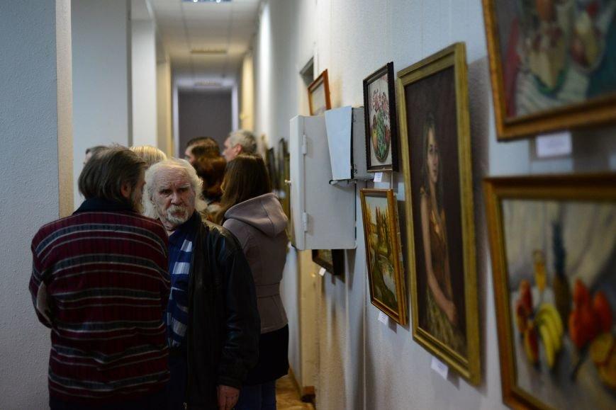 В Запорожье открылась художественная выставка «Время на полотне» (ФОТОРЕПОРТАЖ), фото-16