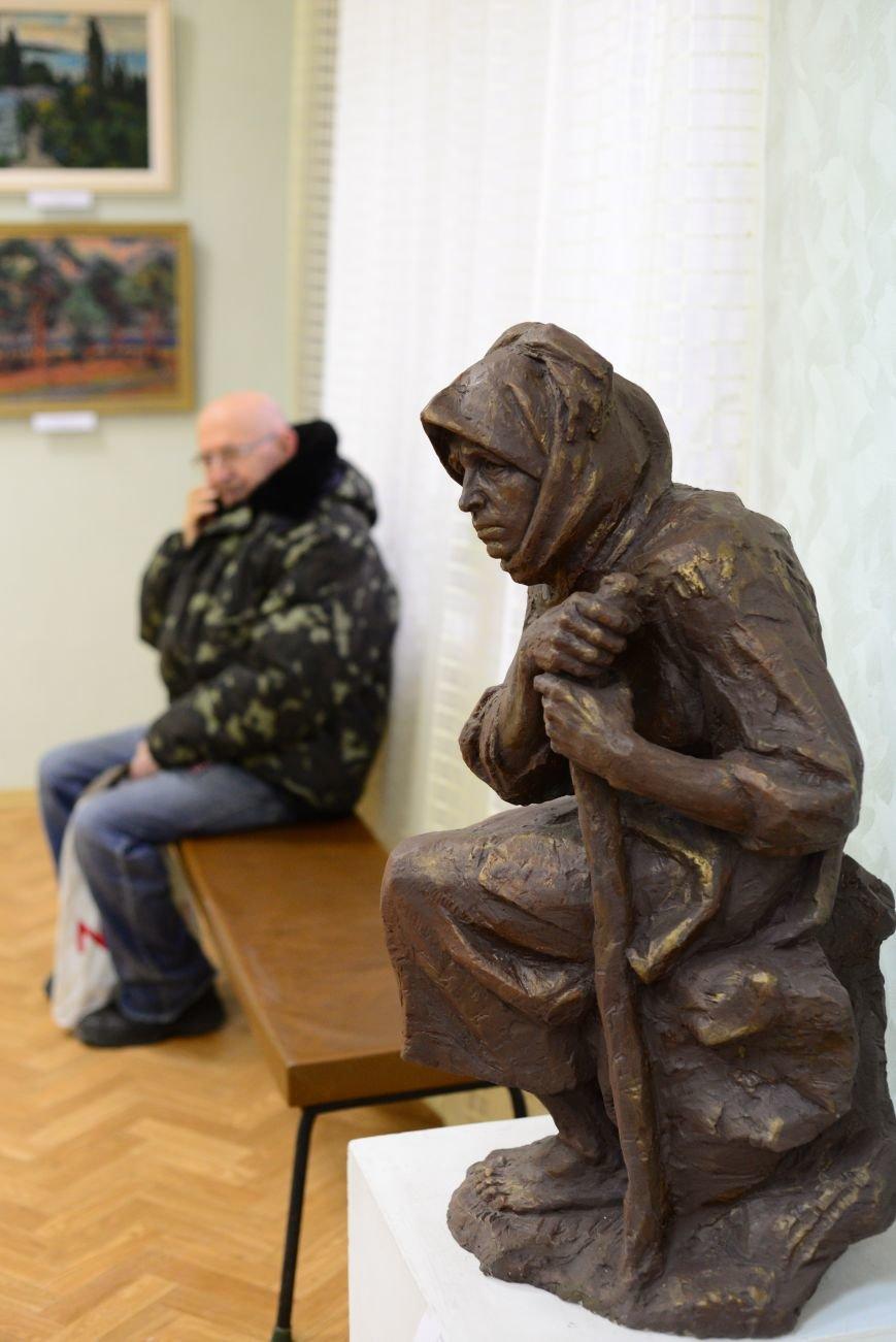 В Запорожье открылась художественная выставка «Время на полотне» (ФОТОРЕПОРТАЖ), фото-7