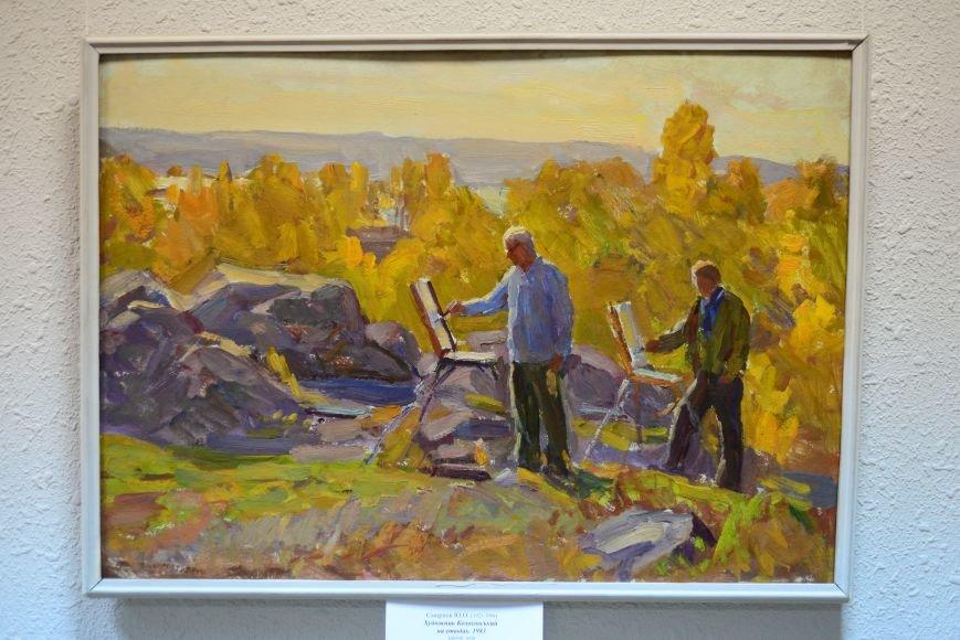 В Запорожье открылась художественная выставка «Время на полотне» (ФОТОРЕПОРТАЖ), фото-37