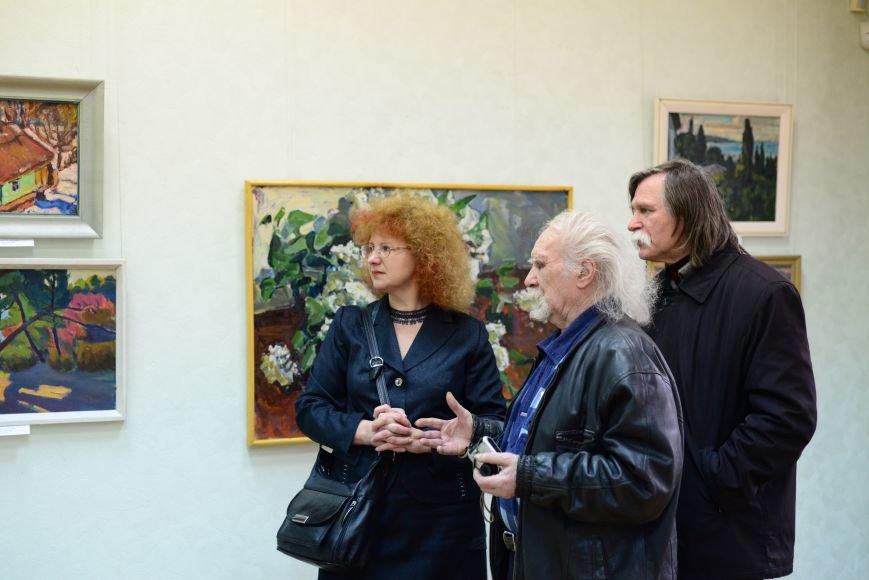 В Запорожье открылась художественная выставка «Время на полотне» (ФОТОРЕПОРТАЖ), фото-31