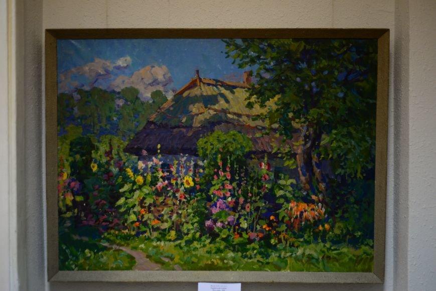 В Запорожье открылась художественная выставка «Время на полотне» (ФОТОРЕПОРТАЖ), фото-13