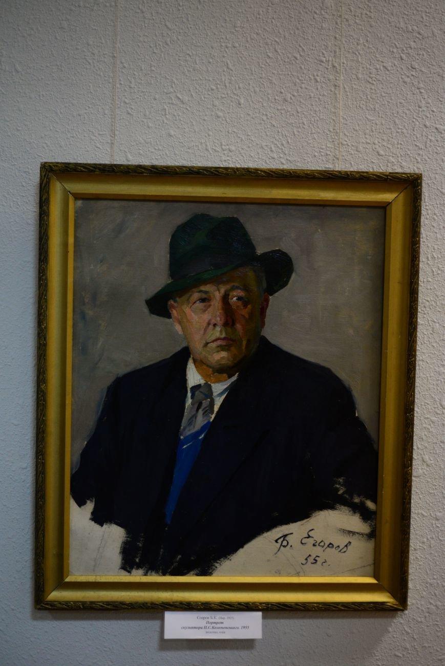 В Запорожье открылась художественная выставка «Время на полотне» (ФОТОРЕПОРТАЖ), фото-29