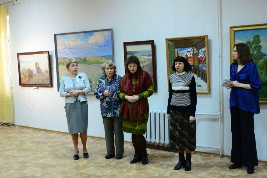 В Запорожье открылась художественная выставка «Время на полотне» (ФОТОРЕПОРТАЖ), фото-2