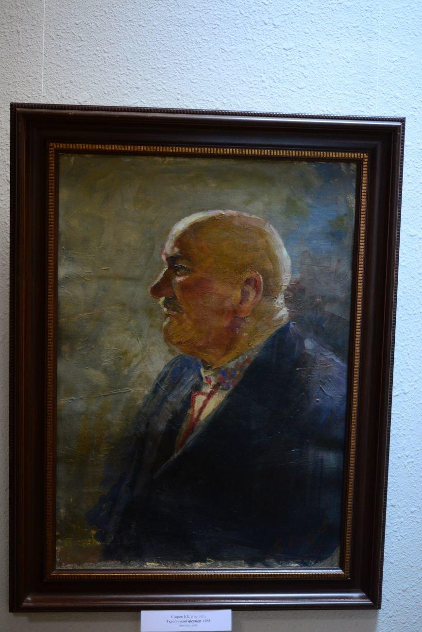 В Запорожье открылась художественная выставка «Время на полотне» (ФОТОРЕПОРТАЖ), фото-17