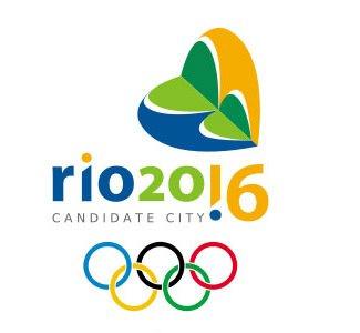 Один из вариантов логотипа Олимпиады 2016