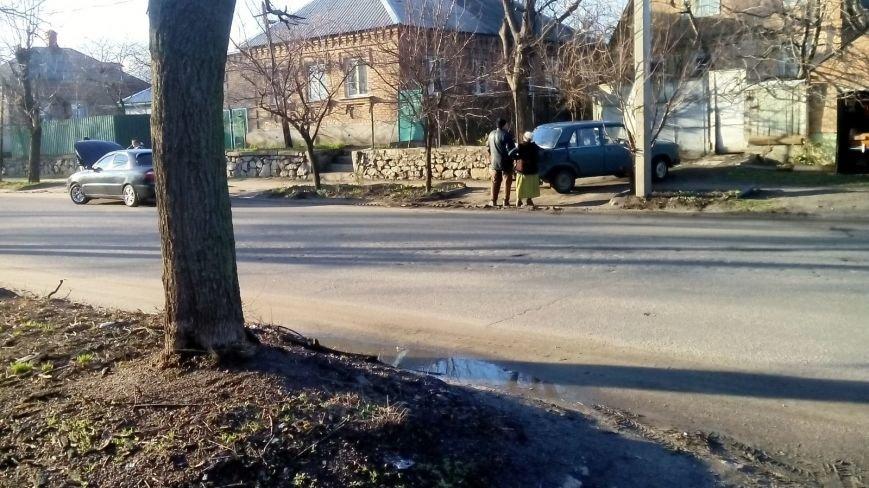 В Кировограде «ВАЗ» задним ходом протаранил «Lanos», фото-5