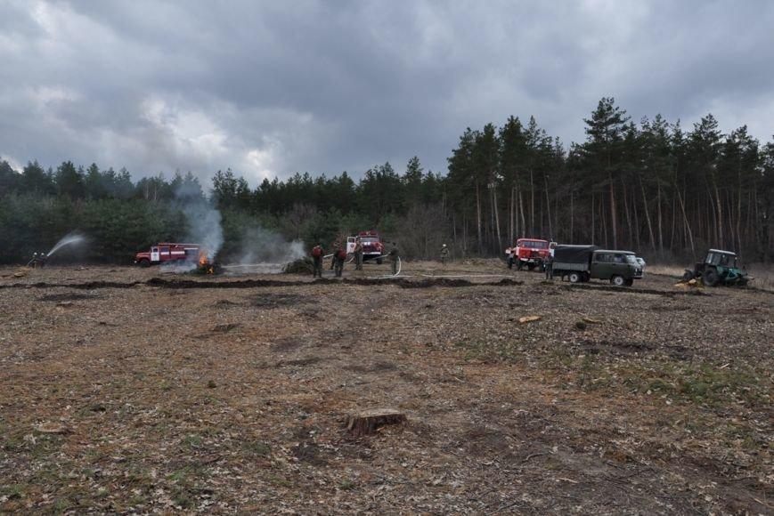 Працівники Служби порятунку та лісгоспу відпрацювали взаємодію щодо гасіння пожеж у лісах.ФОТО, фото-4