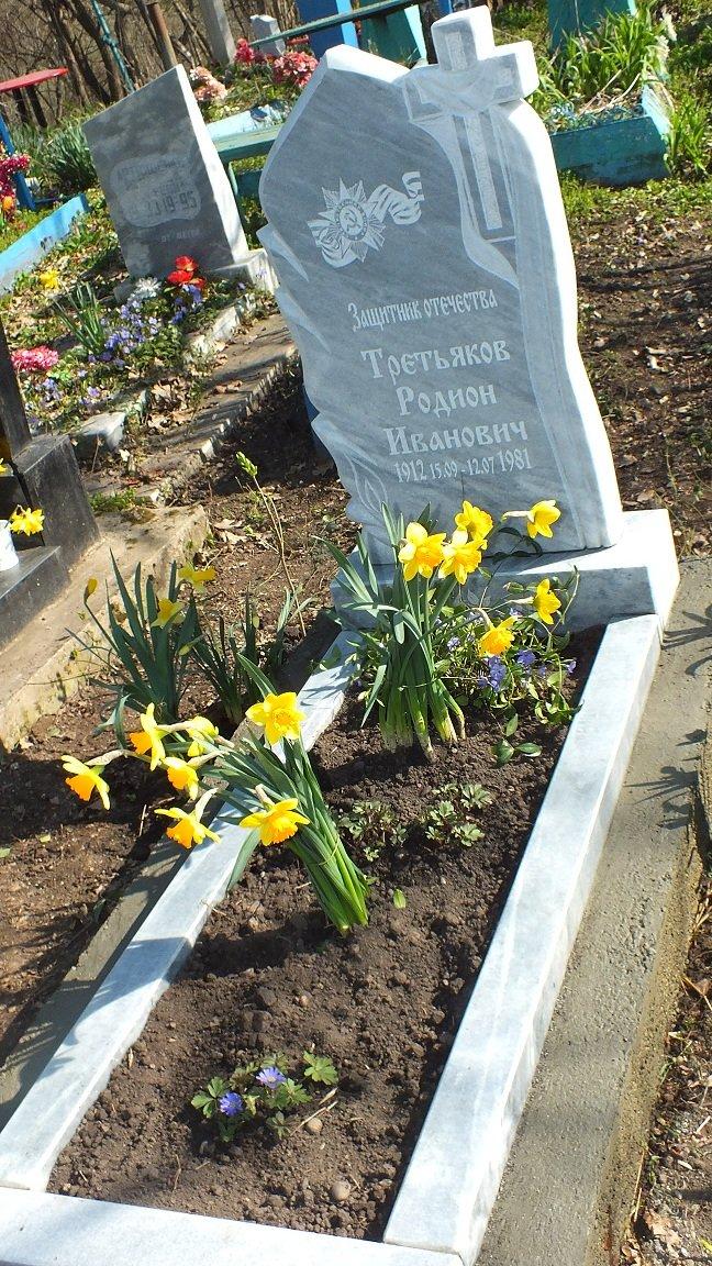 В хуторе Грушевом установили памятник ветерану войны Родиону  Ивановичу Третьякову (фото) - фото 1