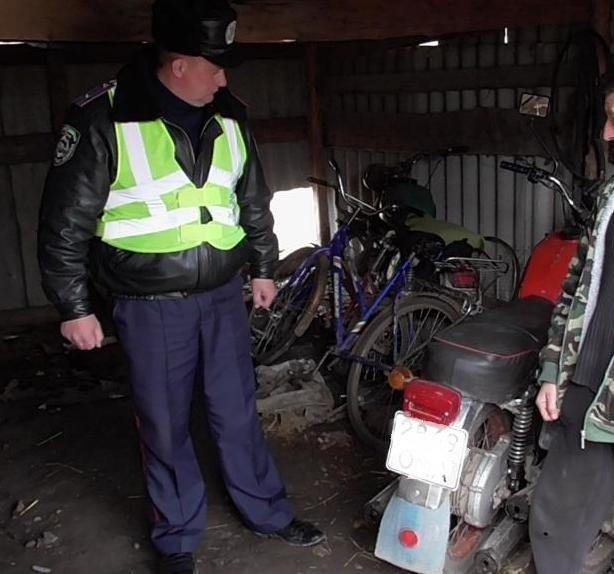Кіровоградщина: в Онуфріївському працівники ДАІ розкрили незаконне заволодіння мотоциклом.ФОТО (фото) - фото 1